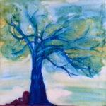 arbre peinture