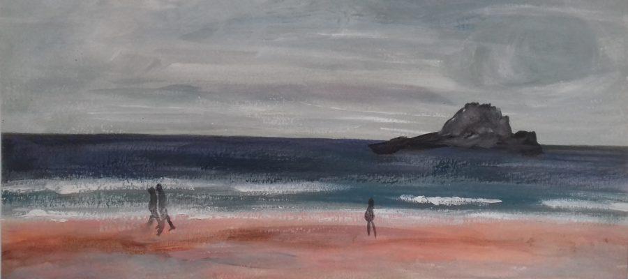 Le long de la mer
