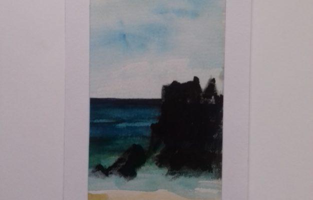 Rochers sur mer