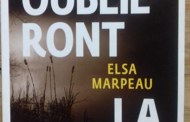 Et ils oublieront la colère, Elsa Marpeau