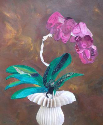 Comme une orchidée