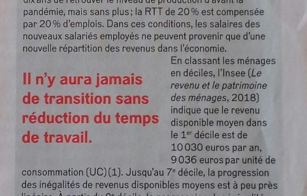 La 150 ème était la bonne – par Jean-Marie Harribey, membre du conseil scientifique d'Attac