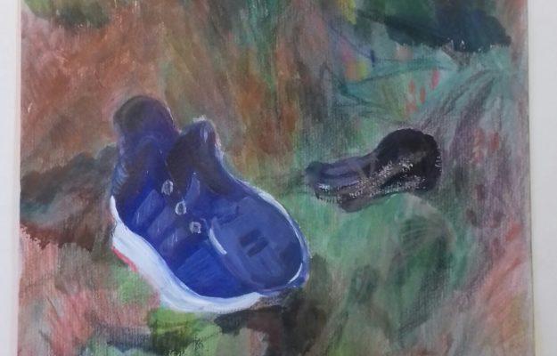 La chaussure abandonnée