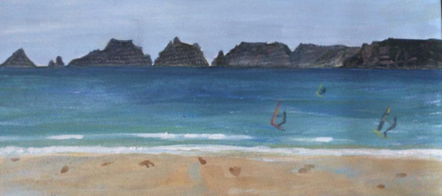 Surf à Goulien